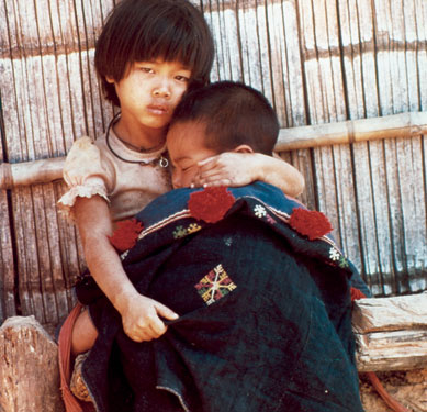 Vietnamese Refugee children IRC photo